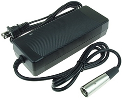 Battery Charger for 60 Volt Li-ion and LiPo Batteries, 67.2V 2A Output, 3PS Plug