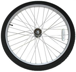 Front Wheel for Currie eZip & IZIP Electric Bicycles