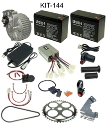 24 Volt 450 Watt Electric Beach Cart Power Kit with Reverse