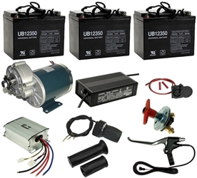 36 Volt 600 Watt Beach Wagon Power Kit
