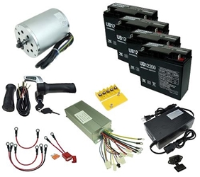 48 Volt 1800 Watt Electric Scooter Power Kit