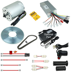 48 Volt 1800 Watt Modification Kit for Razor MX500, MX650 and SX500 Dirt Bike