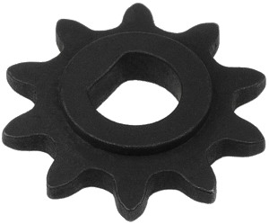 10 Tooth 8mm D-Bore Sprocket for #25 Chain
